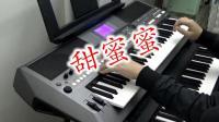 经典回忆《甜蜜蜜》电子琴演奏短视频 旋律被改版