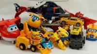 变形金刚大黄蜂VS超级机器人卡车 黄色托宝兄弟玩具 超级飞来超级变形金刚★垣垣玩具