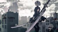 【mAx】尼尔: 机械纪元视频攻略 - 第三章(机械村庄)