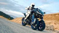全球最奇葩摩托车, 三个轮子有什么用, 看的眼花, 回头率100%