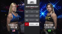 UFC219 预热 霍尔姆:我让你享受一下隆达-罗西的待遇