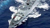 中日海军新锐战舰全面对比 数十艘新锐战舰亚太争锋