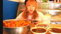 大胃王甄能吃深夜美食到天亮, 100根油条4碗胡辣汤又是元气满满!