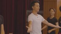 韩庚再回母校, 舞蹈课表演《鸿雁》, 身旁师弟师妹简直要疯了