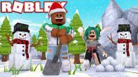 【Roblox铲雪大作战】冰河世纪来临! 铲雪车化解极度深寒! 小格解说 乐高小游戏