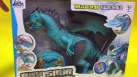 我的世界侏罗纪霸王龙玩具试玩
