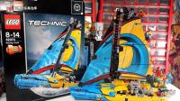 乐高评测: 乐高科技组新品42074赛艇A模式