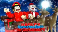 【Roblox圣诞礼物工坊】圣诞老人送礼物! 唱响圣诞欢歌! 小格解说 乐高小游戏