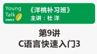 洋桃补习班(第9讲)C语言快速入门3(变量)