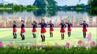 建群村广场舞《唐县我的家乡圣地》团队版编舞映容雪单人水兵舞2017年最新广场歌词