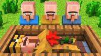 [继承村民对抗僵尸的故事后续]我的世界-Minecraft动画