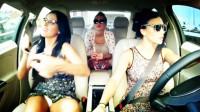 三美女边开车边歌舞 嗨翻了...音乐短片
