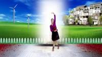 建群村广场舞单人水兵舞《草原情》编舞 诗诗2018年最新广场舞带歌词