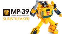 KL變形金剛玩具分享249 MP-39 閃電光/飛毛腿 Sunstreaker