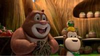熊出没之熊熊乐园 熊出没探险日记机甲熊大2熊大开坦克车筱白解说