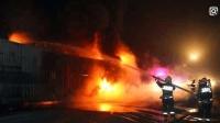 新年第一天, 这哥们悲催了, 10辆新车被烧 总损失超600余万元!