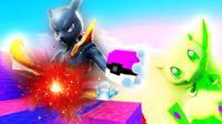 我的世界《神奇宝贝日月幸运方块MEGA》超梦兄弟人民币玩家与平民玩家! 爆笑精灵宝可梦