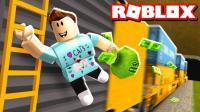 【Roblox越狱】火车抢劫模式更新! 雪国列车黄金大劫案! 小格解说 乐高小游戏