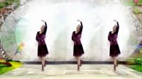 建群村广场舞《山水唱情歌》入门舞编舞 四川开心果2018年最新广场舞带歌词