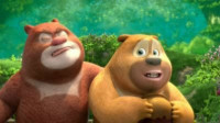 熊出没之熊熊乐园 熊出没探险日记熊大开吉普车筱白解说