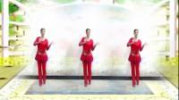建群村广场舞《新年大吉》编舞 太湖彬彬2018最新广场舞带歌词