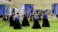 新疆铃鼓舞组合-应蝶儿舞蹈教学5人练习