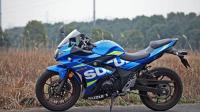 爆料: 高仿地平线铃木GSX250A1摩托车下线啦!