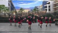 2018年最新广场舞。健康一生广场舞 《中华全家福》十人花球队形舞。编舞。队形设计: 莉莉