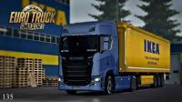 【LRTINTER】欧洲卡车模拟2 #135 新款斯堪尼亚S580瑞典提车 ETS2