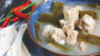 鲜香海带排骨汤