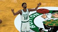【布鲁】NBA2K18终极联盟:恩比德凯尔特人队首秀!欧文vs雷霆三巨头(18)