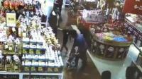 2岁儿童超市偷吃 爷爷暴摔后又狠踹