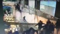 印尼证券交易所参观台倒塌视频曝光