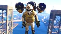 【小熙解说】GTA5 让屌德斯加入我的集团当副手! 喷射型火箭推进器真的可以让人上天! #savage#