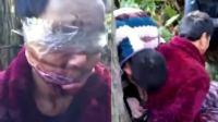 养猪场老板遭绑架 被救时满脸血迹