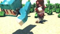 【四新&七末】小空岛生存#3 你好, 北极熊 [我的世界Minecraft]