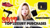 TOP LUXURY PURCHASES in 2017 買到最愛不惜手的奢侈品
