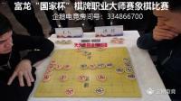 """""""国家杯""""棋牌职业大师赛 王天一先和洪智"""