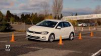2018全新大众 Polo紧急变线麋鹿测试, 懂车的一看就明白!
