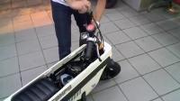 本田最Q的摩托车 小板凳