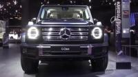 2019款奔驰G级闪亮登场, 看到这LED大灯和外观还买什么丰田陆巡!