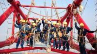中国工人每天攀爬帝国大厦, 外国极限运动员都吓傻了