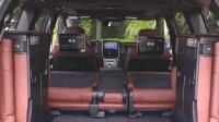 2018款丰田普拉多 看看这内装就知道有多霸道了 彰显高端SUV