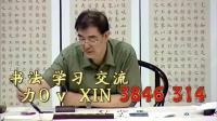 毛笔书法专业教程欧体楷书29钢笔行书速成法