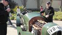 1910年的奔驰, 保存的如此完好, 可以进博物馆了!
