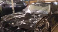 牛人将严重受损的宝马车修复一新, 这技术4S店都认服了