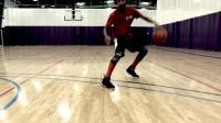 篮球课 如何做好后撤步以及其变化动作 篮球教学视频