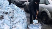欠下的老天总要收回的! 俄圣彼得堡降下神秘蓝雪 疑有毒化学品