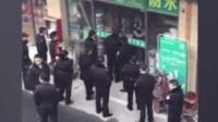 男子强行掳走2名小学生未遂 持刀挟持商铺女子与警方对峙