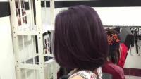 理发师帮美女做了一款短发造型, 三百块真值